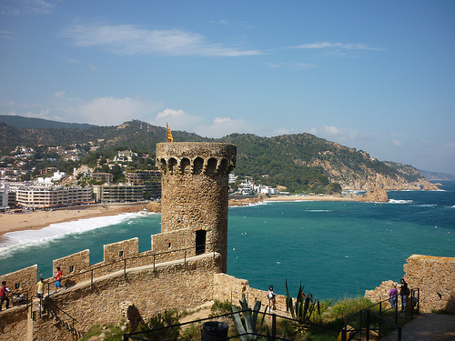 Mediaeval delights of Tossa de Mar's vila vella  Costa ...