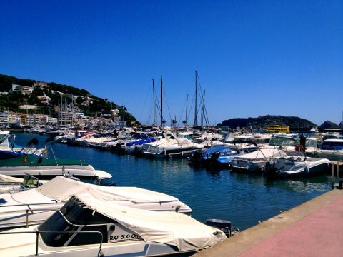 The marina at Estartit