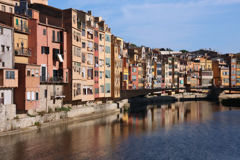 Girona's painted houses on the Onyar