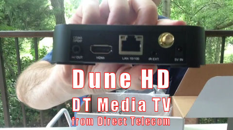 review dune hd dt media tv from direct telecom