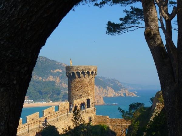 Tossa de Mar is in the southern Costa Brava comarca of La Selva