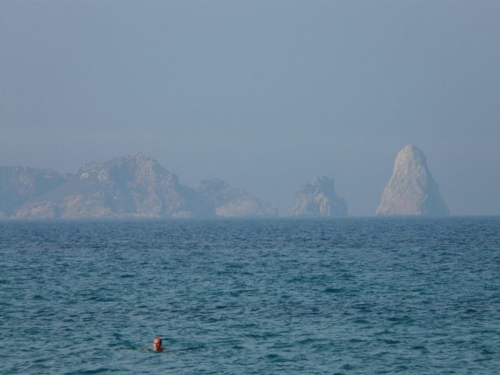 The Medes Islands off Estartit