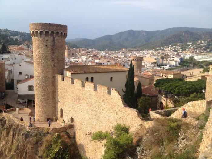 Tossa Castle.